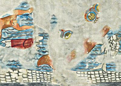 Maya Battle Scene